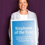 Whitney Brooks, RN Recognized as Employee of the Year (web)